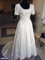 Promocja!!!DEMETRIOS (USA-Las Vegas) ekskluzywna suknia ślubna roz.34