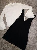 NOWY Zestaw h&m: spódnica i bluzka r. 38