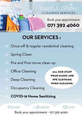 Office and Home Cleaning & Sanitation