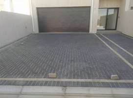 Summer specials on paving, artificial turf