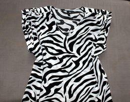 elegancka bluzka zebra z TK MAXX S 36
