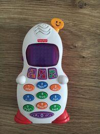 Телефон Fisher price телефончик детский (укр)