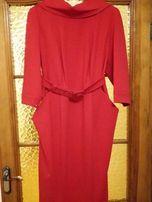 Стильное платье ярко красного цвета J&L , р 54- 56