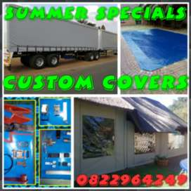 Summer Speciels On Custom Covers