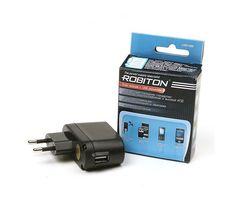 USB зарядка ROBITON USB1000 1A (5В)