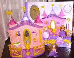 Игрушка замок принцессы Рапунцель Салон красоты с аксессуарами
