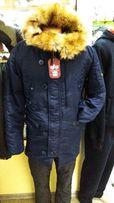 Куртка зимняя мужская Аляска Alpha Inustries