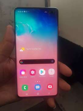 Samsung Galaxy s10 plus 128 gb only phone no box in mint condition