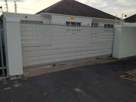 Galvanized and stainless steel Nutec Gates..