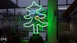 Неоновый светильник Новогодняя елка