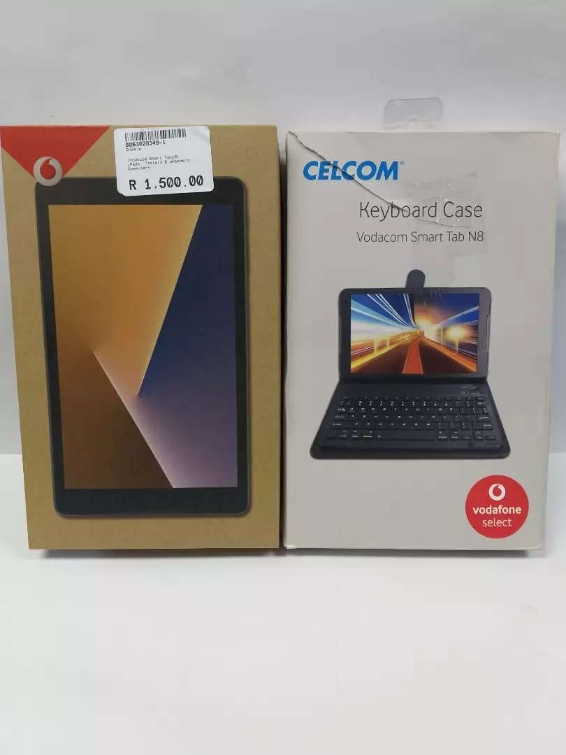Vodacom tablet and keyboard case 0