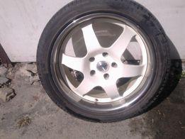 Диски тюнинговые AEZ R20 для VW MERCEDES R20 5x112 с резиной Michelin