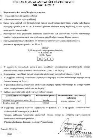 ванна акриловая АRIADNA 160х100 140х90 Одесса - изображение 8