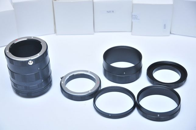 Макрокольца Nikon/Canon/Sony/Nex/Pentax/Micro 4/3/Minolta/м42 макро Днепр - изображение 3