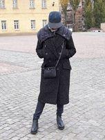 Пальто дизайнерское женское, твид, М