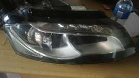 Audi A3 Drivers side xenon headlight clean