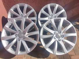 AUDI S LINE OEM 18IN MAGS 5X112