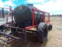 Image of 2500 ltr water tank with trailer