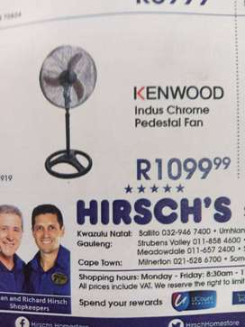 Kenwood Pedestal fan
