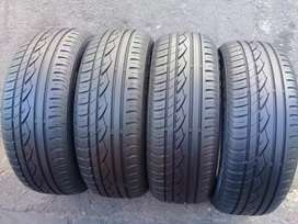 4x 205/55/16 continental tyres for sell