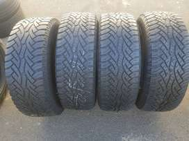 265/65/ R17 Continental Cross Contact Tyres