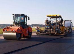 Wylewanie asfaltu,asfalt , układanie asfaltu