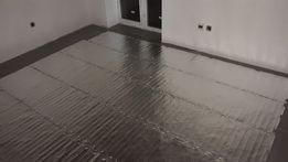 Алюминиевые тонкие маты теплый пол под ламинат,паркет. Тепла підлога
