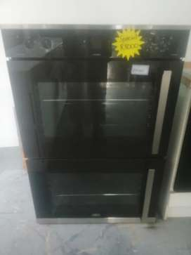 Defy double oven with thermofan