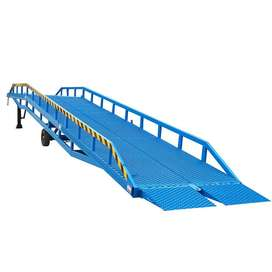 Hydraulic Container Mobile Loading Dock Ramp