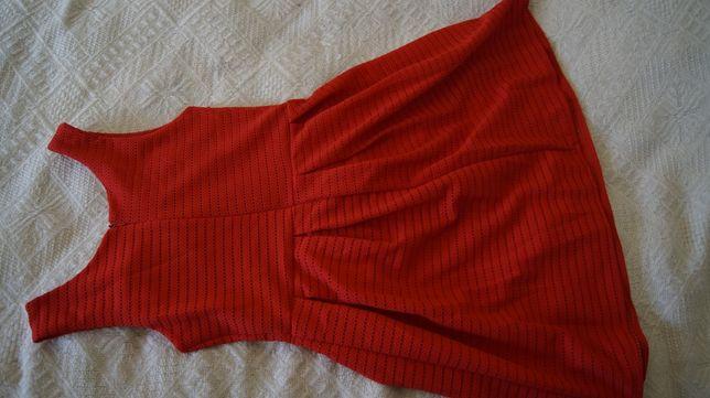 sukienka czerwona wizytowa balowa Poznań - image 2