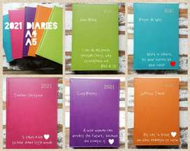 Personalised Diaries for 2021 #G2S