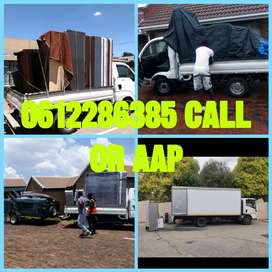 BAKKIE AND TRAILERS FOR HIRE