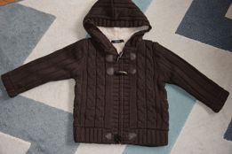 98 sweter swetr ocieplany na misiu George 2-3 lata