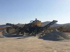 VSI CRUSHER PLANT WITH SCREEN