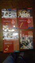 Atlas historyczny cz. 1 i 3 - gimnazjum