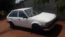 Ford laser 1.6l carbrator start an drive