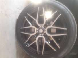 "Rims r 3months old swop with another set of 15"" wide rims with tyres"