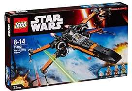 Star Wars Lego 75102 Poe's X-Wing Fighter. New
