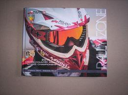 Książka album o radjadch terenowych quady motocykle Radj Dakar Sonik