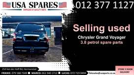 Chrysler Grand Voyager 3.8* 2008-19 used spare parts for sale