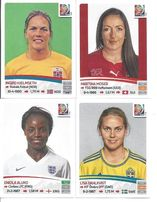 CANADA 2015 FIFA WOMEN'S WORLD CUP ( naklejki panini )