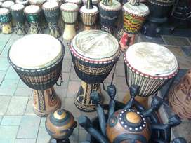 African musical instruments,Craft and Art