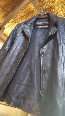Leather Jacket size medium/small modern fit