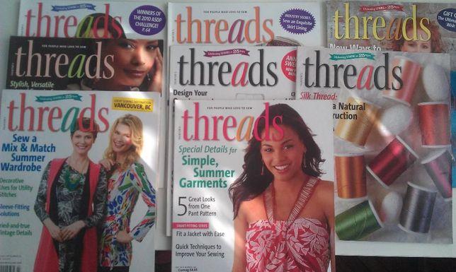 Threads 8 sztuk, gazety związane z szyciem. Sosnowiec - image 1