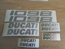 Ducati decals stickers graphics kits