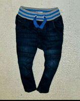 Детские джинсы на подкладке, теплые