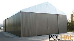 Hala Namiotowa, Namiot Magazynowy 10m x 25.0m x 4.5m PVC/BLACHA T14