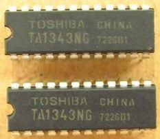 Микросхема TA1343NG (DIP24)