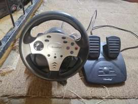 Playstation 2 steering wheel