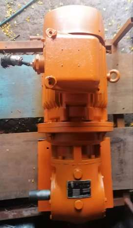 5.5kw motor and gearbox combo